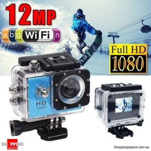 GoAction SJ4000 WiFi Full HD 1080P 12MP Waterproof Sports Action Camera Pro DV Blue Colour