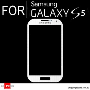 Replacement Front Glass for Samsung Galaxy S5 i9600 White Colour