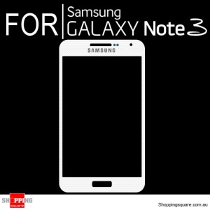 Replacement Front Glass for Samsung Galaxy Note 3 N9000 White Colour
