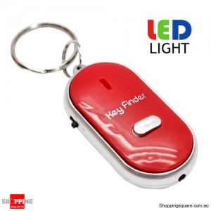 Whistle Key Finder Red Colour