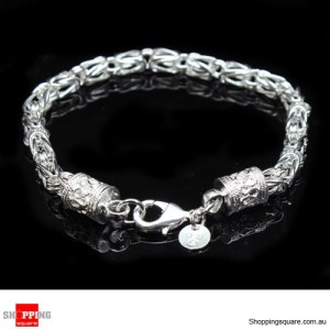 Women 925 Sterling Silver Filled Bracelet Fashion vogue