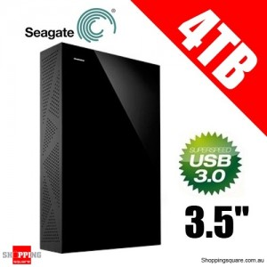 Seagate 4TB Backup Plus 3.5'' Desktop External Hard Drive