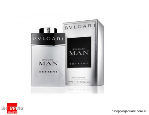 Bvlgari Man Extreme 100ml EDT By BVLGARI Men Perfume