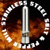 Stainless Steel Electric Salt and Pepper Mill - Kitchen Tool