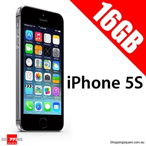 Apple iPhone 5S 16G Unlocked Space Gray Smart Phone
