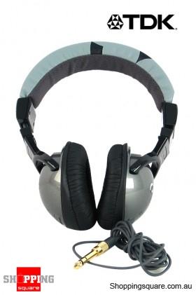 TDK ST-200BK Stereo Headphones
