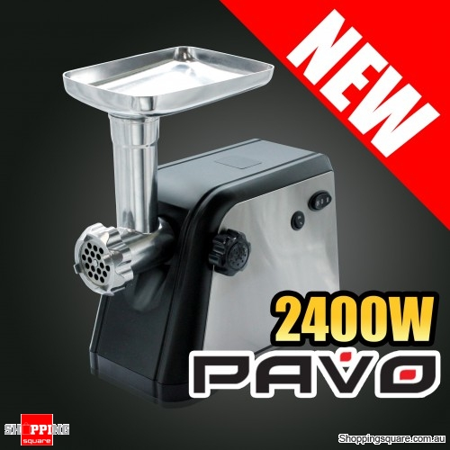 Pavo Meat Grinder with Reverse Function low noisy level 2400w