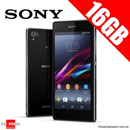 Sony Xperia Z1 C6903 LTE 16GB Smart Phone Black