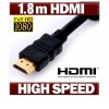 1.8M HDMI Cable v1.4 3D High Speed with Full HD 1080p Gold Plated
