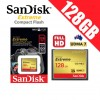 SanDisk Extreme Compact Flash 128GB Memory Card 120MB/s for DSLR Digital Camera FHD