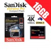 SanDisk Extreme Pro Compact Flash 16GB Memory Card 160MB/s for 4K Full HD DSLR Digital Cam