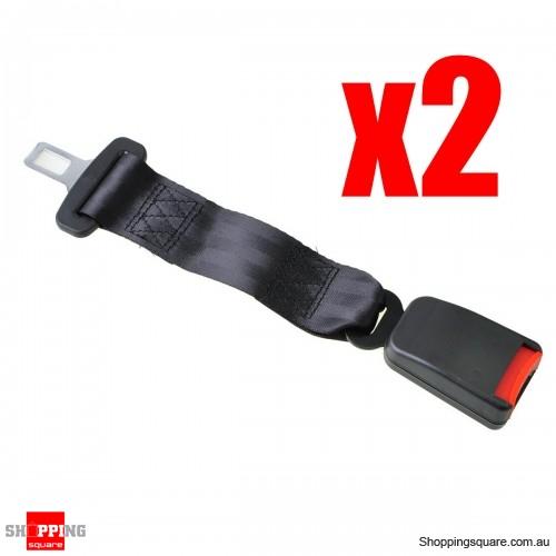 2X Car Seat Belt Buckle Safety Extender Strap 35cm