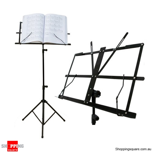stage sheet music stand metal folding easy carry with carry bag online shopping shopping. Black Bedroom Furniture Sets. Home Design Ideas
