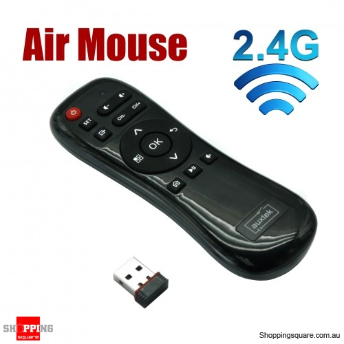 2.4G Air Mouse IR Wireless Remote Controller for Andriod TV PC ...