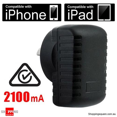 SAA Approval - 2100mA 5V USB Power Adapter (AU) - USB Charge
