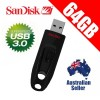 SanDisk 64GB CZ48 Ultra USB3.0 Flash Drive