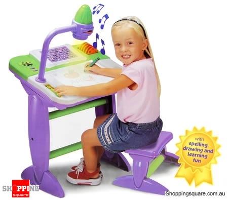 kids interactive activity desk online shopping shopping square rh shoppingsquare com au Art Master Activity Desk Art Activity Desk