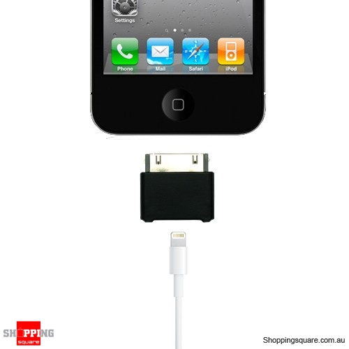 Lightning 8 pin female to 30 pin male adapter for iphone 4s ipad 3