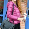 Down Jacket Hooded Women Size 16 Pink Colour