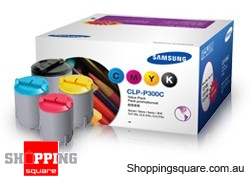 Samsung Compatible CLP-P300C  multi-pack toner set