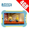 "Laser 7"" LCD 4GB Storage Tablet for Kids"