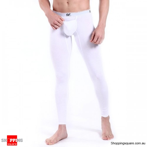 Men's Long Underwear White Colour Size 10