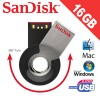 SanDisk SDCZ58-16G-B35 16GB Cruzer Orbit USB Flash