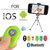 Bluetooth Remote Shutter For iOS Android iPhone Samsung Camera Mode Green Colour