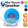 Waterproof Bluetooth Mini Shower Speaker Hands free Mic Speaker Blue Colour