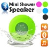 Waterproof Bluetooth Mini Shower Speaker Hands free Mic Speaker Green Colour