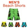 Men's Surf Beach Shorts Swimwear Green Colour Size 32