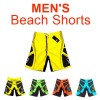 Men's Surf Beach Shorts Swimwear Yellow Colour Size 38