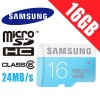 Samsung 16GB micro SDHC Card Class6 Up to 24MB/s