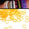 200 X Rainbow Loom Rubber Bands Refill Two Tones Yellow/Orange Colour