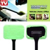 Windshield Wonder Wiper Car Window Cleaner w/ 2 green pads
