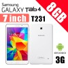 Samsung Galaxy Tab 4 8GB 3G with 7.0 inch display SM-T231 Tablet White