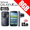 Samsung Galaxy K Zoom C115 LTE 8GB Mobile Camera Black