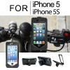 Full Case Bicycle Mount Holder For iPhone 5S 5 Black Colour