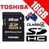 TOSHIBA 16G SDHC Flash Memory Car...