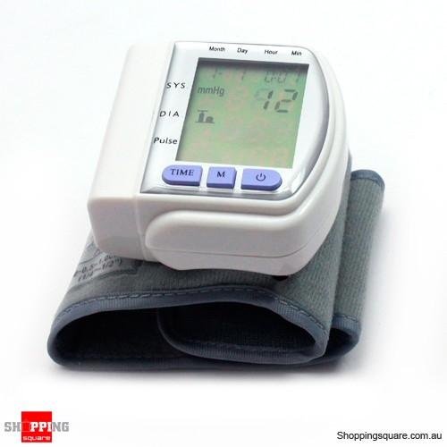 Automatic digital blood pressure monitor wrist watch online shopping