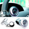 Universal Hand Control Car Steering Wheel Knob Ball Silver Colour