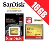 SANDISK EXTREME Compact Flash CF 16GB 120MB/s Memory Card