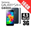 Samsung Galaxy Mini S5 G800H/DS Duo Sim 16GB 3G Smart Phone Black