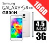 Samsung Galaxy Mini S5 G800H/DS Dual Sim 16GB 3G Smart Phone White