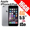 Apple iPhone 6 Plus 16GB LTE 4G 5.5 inches Smart Phone Grey