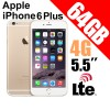 Apple iPhone 6 Plus 64GB LTE 4G 5.5 inches Smart Phone Gold