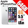 Apple iPhone 6 Plus 64GB LTE 4G 5.5 inches Smart Phone Silver
