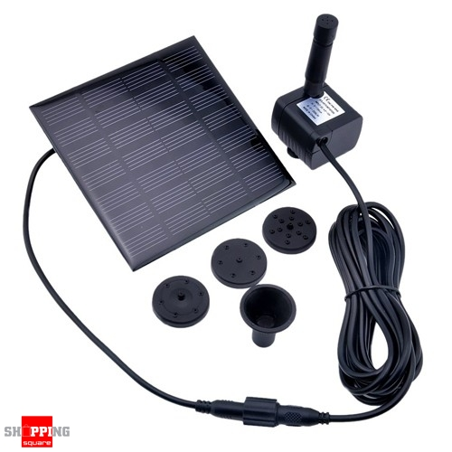 Solar Power Fountain Garden Pond Pool Water Feature Pump Kit Panel Online Shopping Shopping
