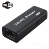 Portable 3G Wifi Router 150Mbps USB Wireless 2 In 1 Black Colour