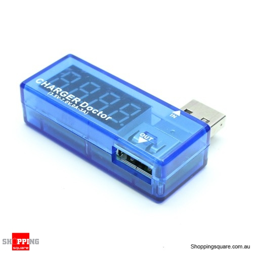 USB Charger Doctor Mobile Power Detector Battery Tester Voltage Current Meter